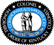 Logo for The Honorable Order of Kentucky Colonels